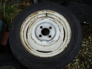 Morris Minor 1000 Wheel