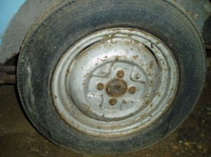 Morris Minor Series 11 Wheel